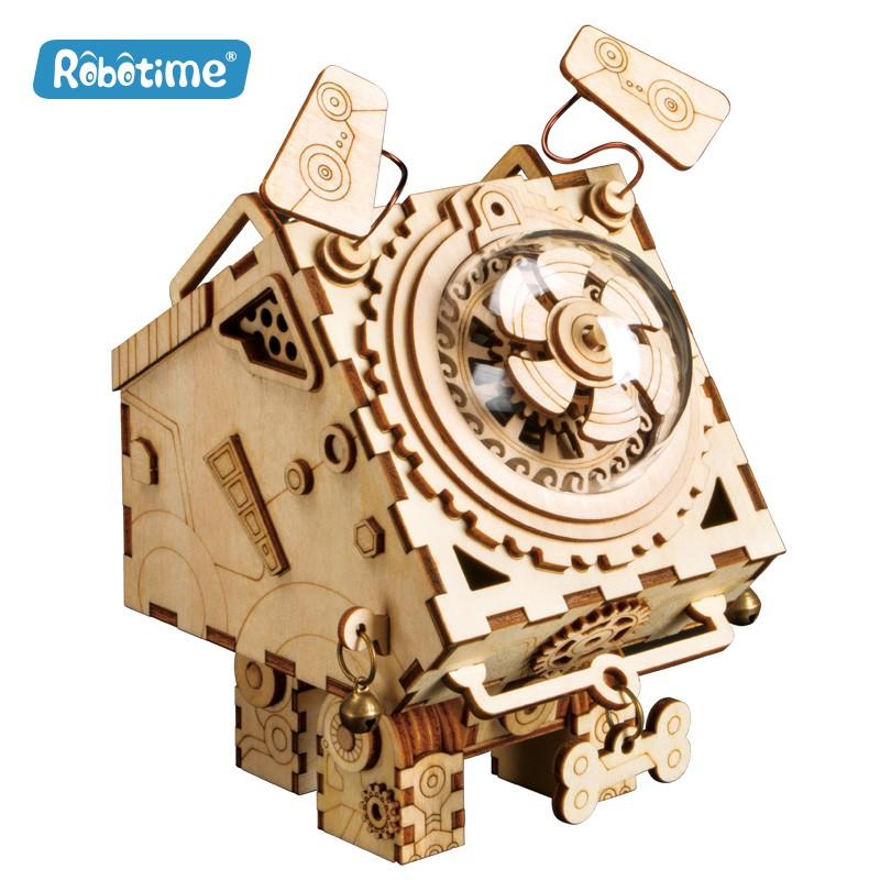 Seymour, music box Steampunk, Robotime