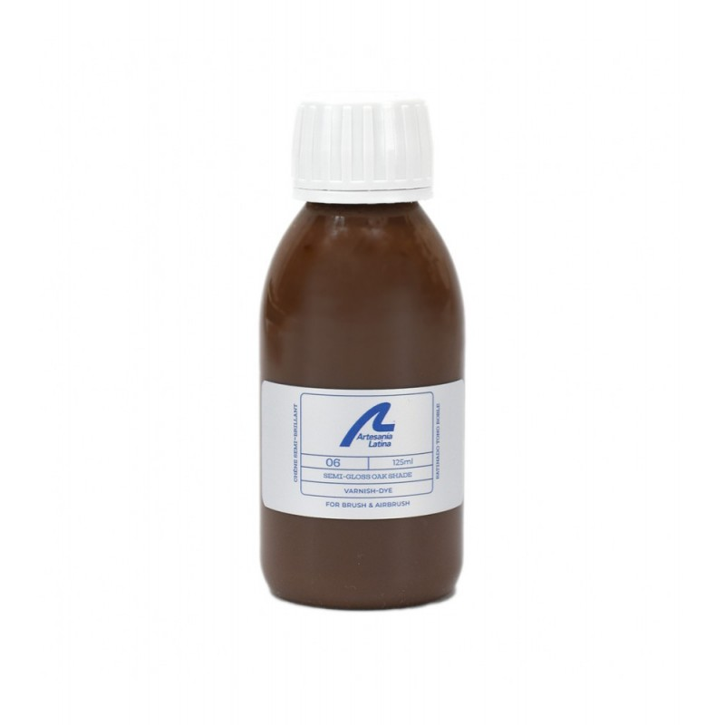 Artesania Latina Vernis satiné, ton chêne, 125 ml Accueil