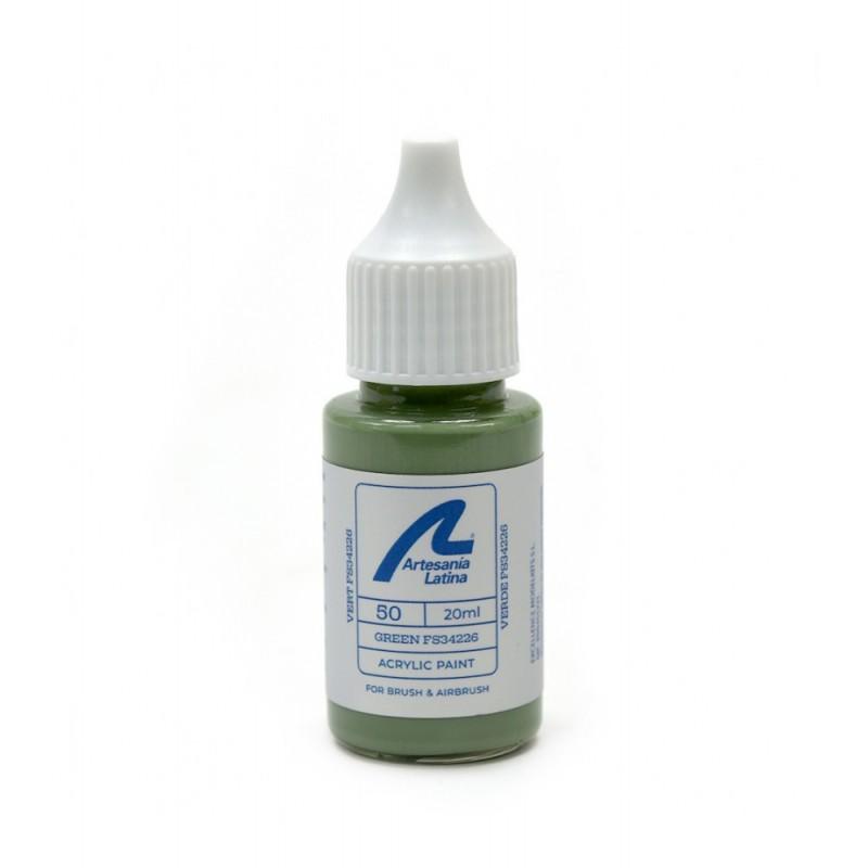 Peinture à l'eau 20 ml - Vert FS34226