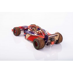 Maquette de formule 1, Veter Models, rouge et bleu