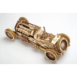Ugears, Bolide U9 Grand Prix, puzzle 3d mécanique en bois. en vente sur Tridipuz.fr