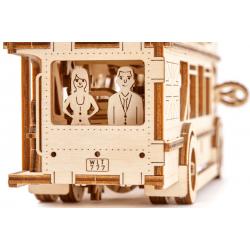 puzzle3d bus wooden city