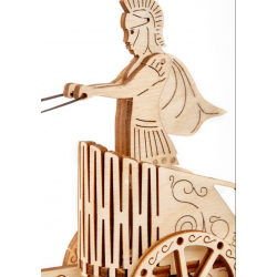 WOODEN.CITY Puzzle 3d en bois,   Wooden City, Le char romain Puzzles 3d en bois