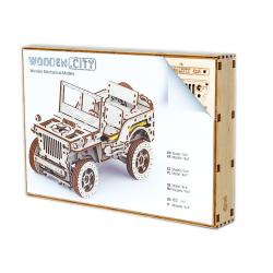 puzzle3d jeep wooden city