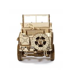 WOODEN.CITY Puzzle 3d mécanique en bois, Wooden City, la jeep. Puzzles 3d en bois