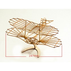 maquette bois de planeur distribué par Tridipuz.fr