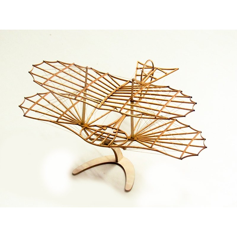 DW HOBBY, Dancing Wings Hobby Maquette en bois du planeur d'Otto Lilenthal Maquettes en bois