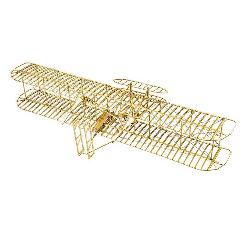 WOODEN AIRPLANE KIT OF THE WRIGHT FLYYER