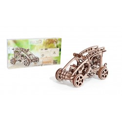 3d puzzle of a buggy made by wood trick and sold by Tridipuz.fr