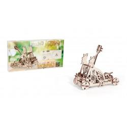 maquette , maquette en bois, puzzle 3d, jeux eco friendly, wood trick, ugears, wooden city
