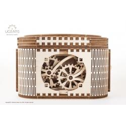 UGEARS Puzzle 3d en bois, la boîte à secret d'Ugears Puzzles 3d en bois