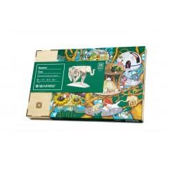 puzzle 3d mécanique d'éléphant, mister playwood, puzzle 3d animaux EAN 4820204380045