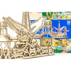 Magnifique puzzle 3d architectural,  plywood 10006 , https://tridipuz.fr EAN 4820204380069