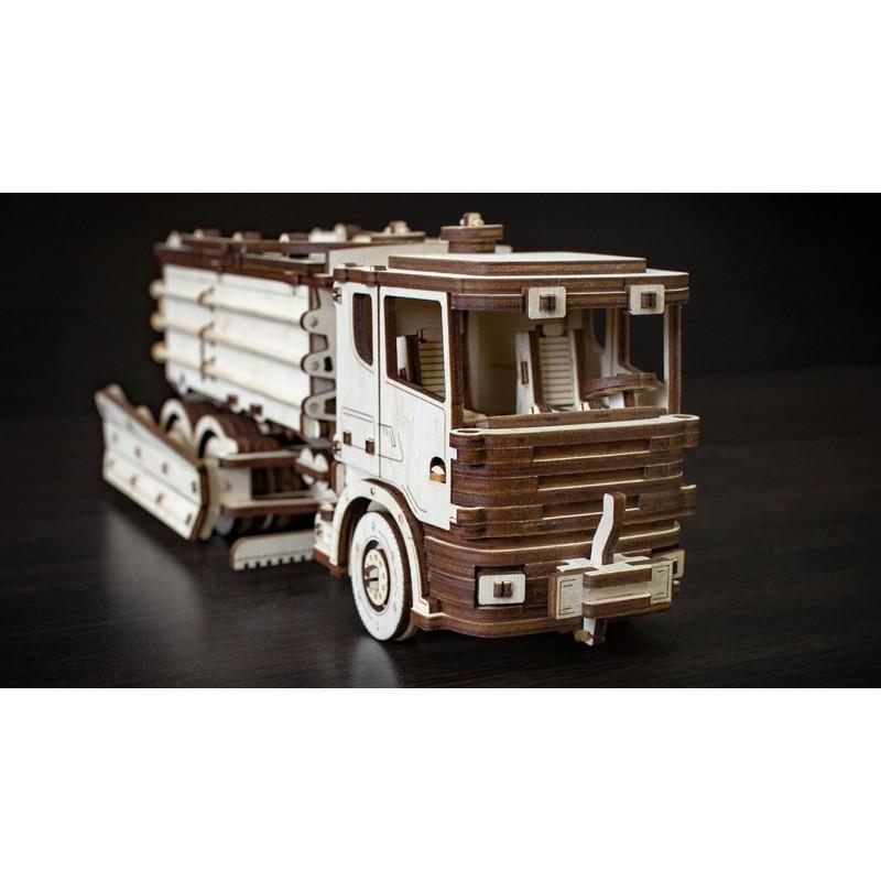 maquette de camion , Eco Wood Art , maquette sans colle
