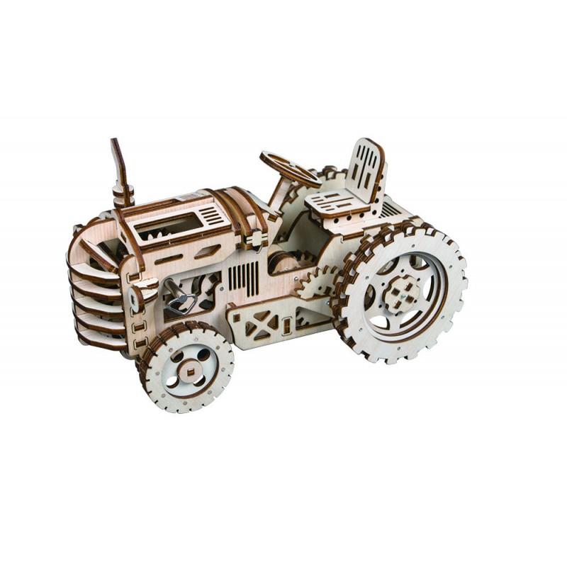 le Tracteur par Robotime, puzzle 3d,montage sans colle