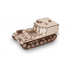 maquette de tank , eco wood art, tridipuz.fr