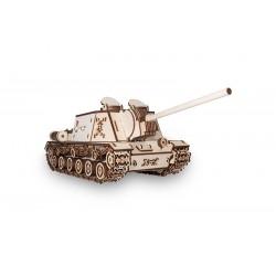 maquette de tank en bois dispo chez Tridipuz.fr