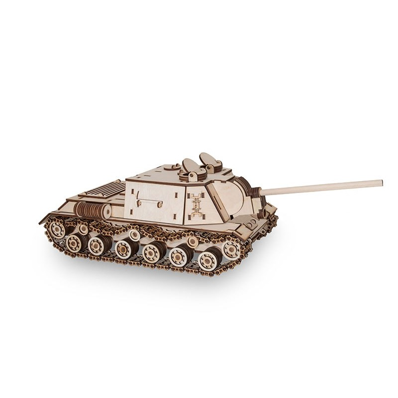 Maquette de tank en bois du