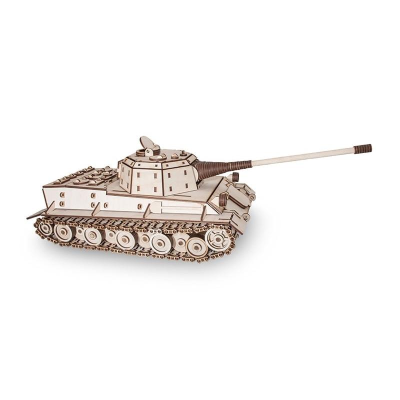 maquette de tank en bois chez tridipuz.fr