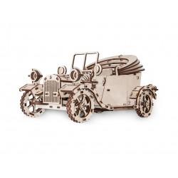 Maquette en bois de voiture...