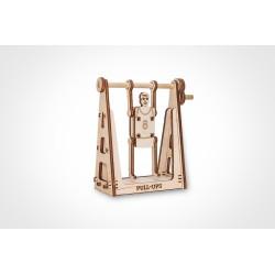 Mini puzzle 3d , le gymnaste