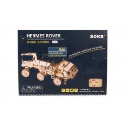 Robotime Rover Hermes,  maquette espace, jouet solaire Puzzles 3d en bois