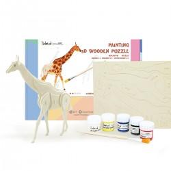 Robotime La Girafe à assembler et peindre, Robotime HC 211 Animaux, dinosaures, insectes