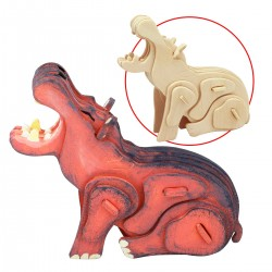 Hippopotame à assembler et...