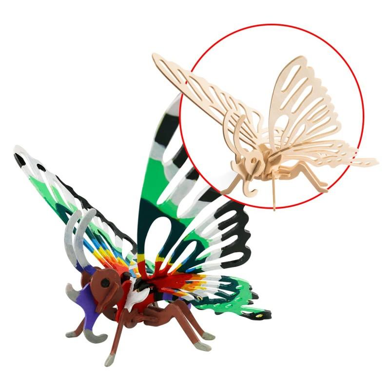 Robotime petit papillon robotime HC 207 Jeux et jouets en bois enfants