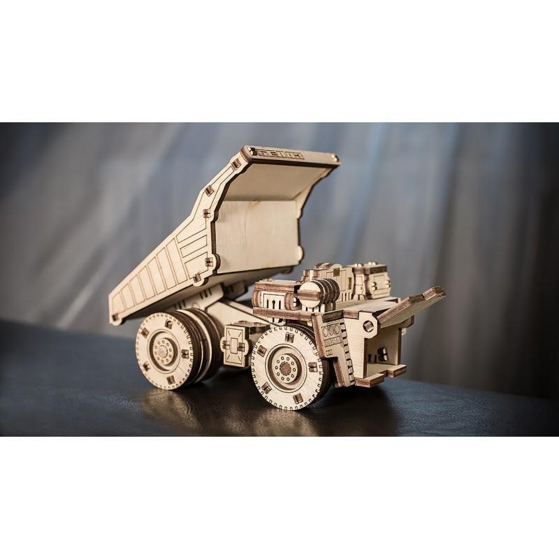 Petit puzzle rigolo de camion benne, Mini Belaz 75600.