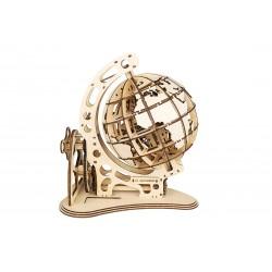 maquette steampunk de globe terrestre, mr playwood ref 10007, tridipuz.fr. EAN 4820204380076